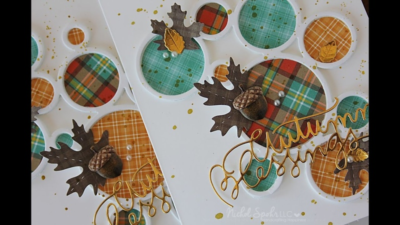 Simon Says Stamp October Card Kit | Autumn Blessings Die Cut Cards