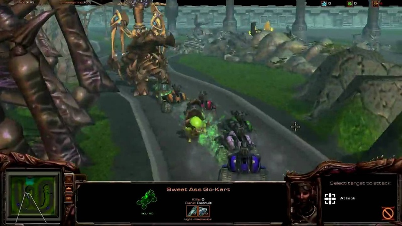 StarCraft 2 Beta Map: Wacky Race v1
