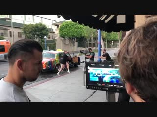 "Закадровое видео со съемок клипа ""If you really love nothing"" с Кристен Стюарт"
