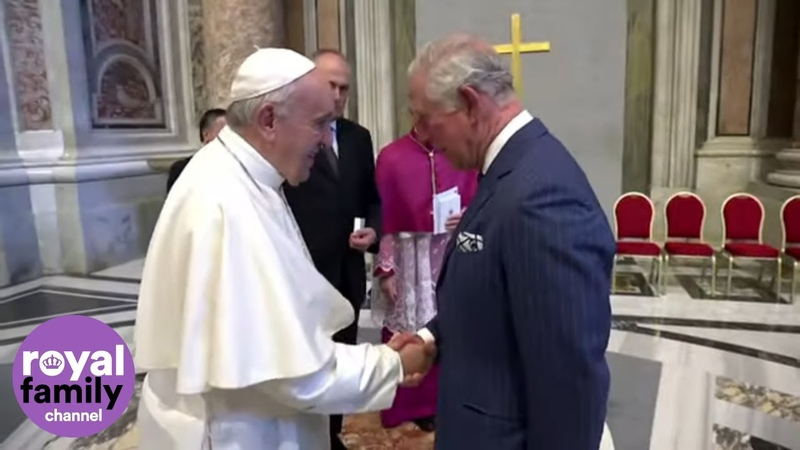 The Prince of Wales Congratulates Pope Francis For His Great Success in Battle For Environment
