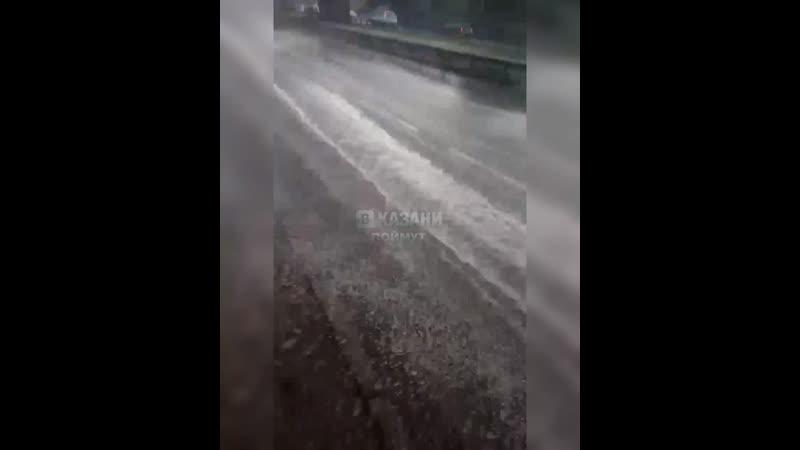 Обрызгали водители
