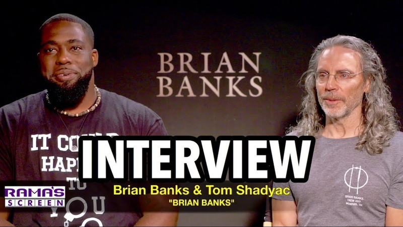 'BRIAN BANKS' Interview: Brian Banks and Tom Shadyac on Judicial System Reform