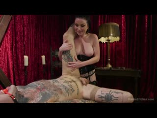 Veruca James - Disobedient Masturbating Slave Punished and Fucked with a Fat Cock, September