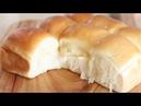 (손반죽)How to make dinner roll/모닝빵 만들기/Soft and Fluffy milk bread