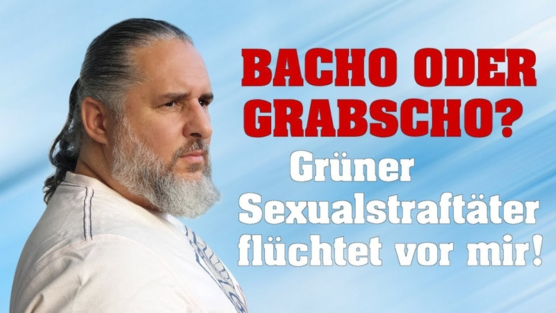 BACHO oder GRABSCHO? Grüner Sexualstraftäter flüchtet vor mir!