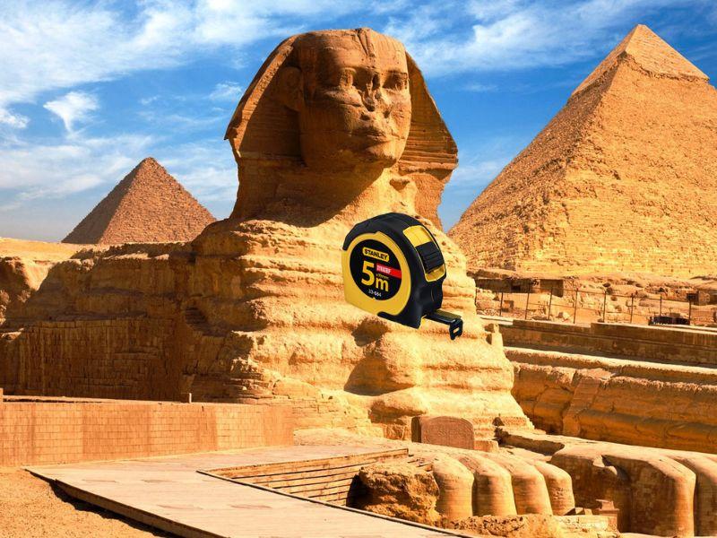 Как проверить прямой угол в помещении с помощью рулетки - подсказка Древних Египтян