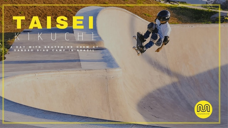 TAISEI KIKUCHI Skateboard do futuro