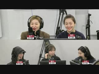 181213 red velvet @ sbs-r love fm radio kim chang ryul's old school