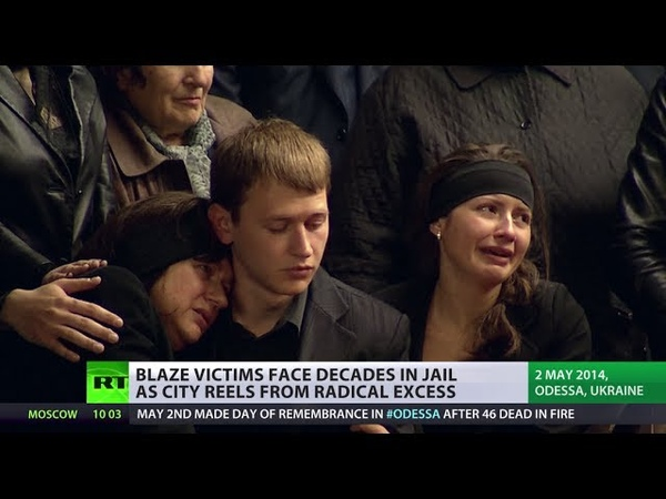 'Neo-fascists killed my son!' Fear, frustration grief grips Odessa
