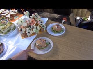 Туристический слёт первокурсников ПГФА. Часть 4. Изысканные бутерброды и чудеса кулинарии