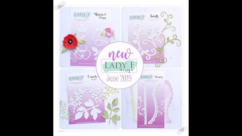 NEW RELEASE Lady E Design Dies June 2019