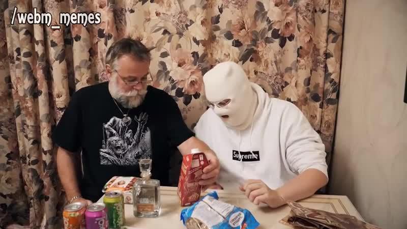 Шведы пробуют русскую еду (Anomaly and Papanomaly)
