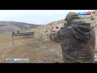 """Учения бойцов разведотряда """"Русь"""" прошли в крымских горах"""