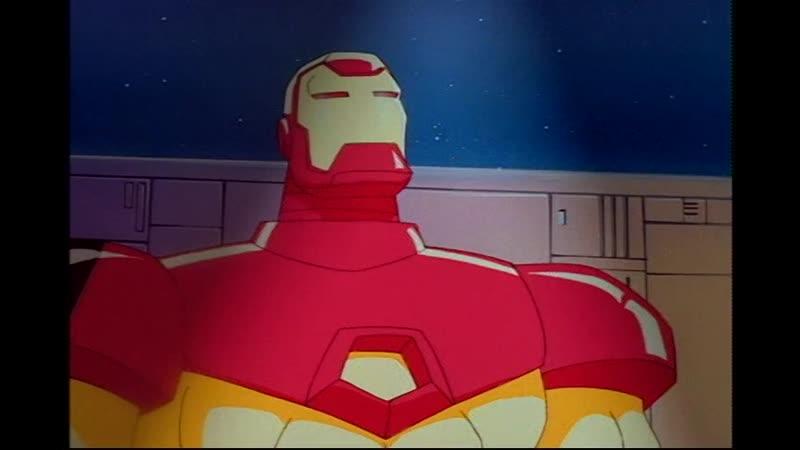 Сезон 02 Серия 03: Железная тюрьма | Железный человек (1994-1996) / Iron Man | Cell of Iron