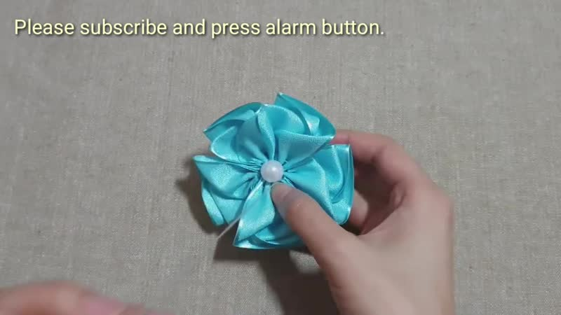 Amazing Ribbon Flower Work Hand Embroidery Flowers Design Sewing Hacks Easy Flower Making