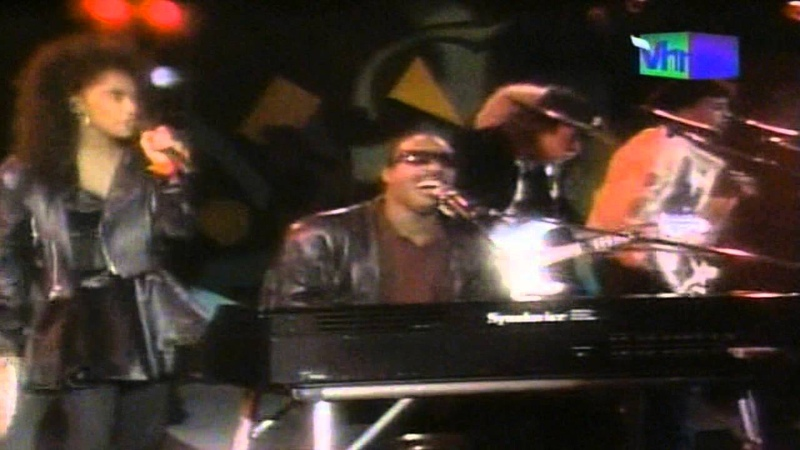 Stevie Wonder with Stevie Ray Vaughan Superstition