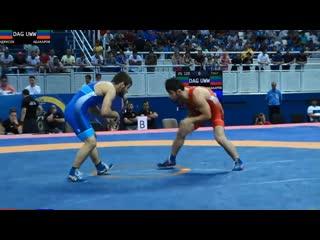 ЧР - 2019. 61 кг. Полуфинал. Магомедрасул Идрисов - Зелимхан Абакаров