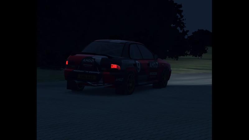 Impreza STI/ Dirt Rally/ Loud downpipe sound (shadowplay 15mb bitrate)