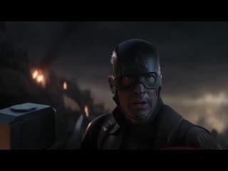 Captain America lifts Mjolnir (Alternative)