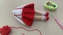 Amigurumi şirin bebek kırmızı başlıklı kız 3 Bölüm kol ve etek yapımı 👧🏻