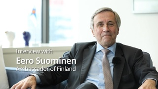 Interview with Finnish Ambassador to Korea Eero Suominen