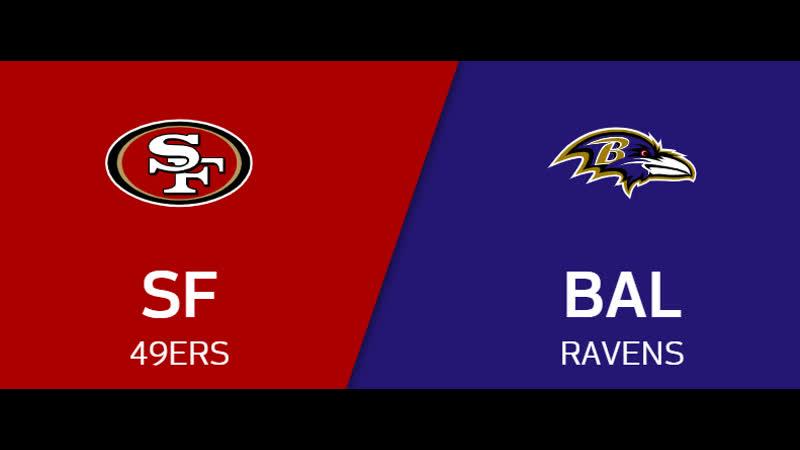 NFL 2019-2020 Week 13 San Francisco 49ers - Baltimore Ravens EN Live Stream