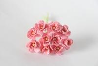 Цветы вишни средние - розовоперсиковые  5шт - 28руб  Диаметр 1,5-2 см Высота 1 см Длина стебля 7 см