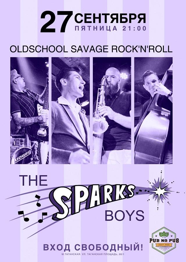 27.09 The Sparks Boys в Pub No Pub