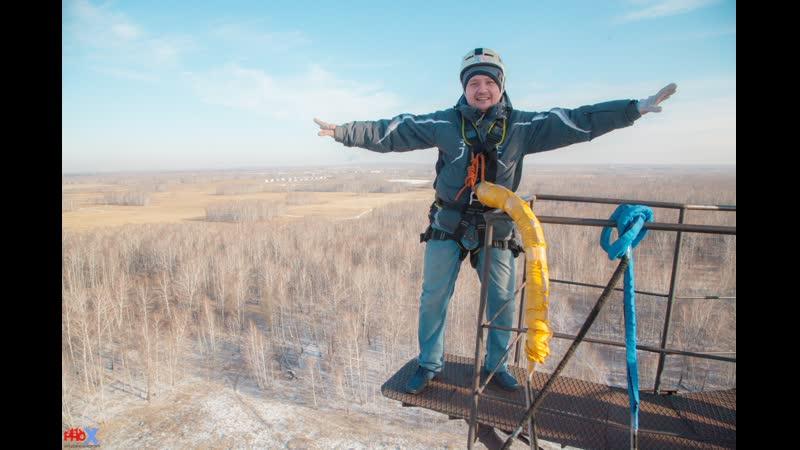 Mars A. прыжок FreeFallProX команда ProX74 объект AT53 Chelyabinsk 2019 1 jump RopeJumping