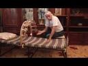 Александр Тюрин школа «Скифия». Урок 11 «Как сделать лечебную раскладушку «Папилац». Часть 3».
