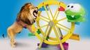 АМ НЯМ выпустил льва в зоопарке Приключения Ам Няма Видео для детей