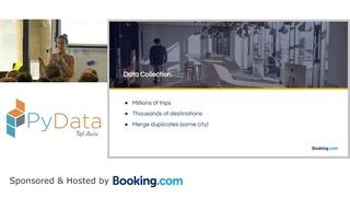 PyData Tel Aviv Meetup:  Modeling Multi-Destination Trips with RNNs Sarai Mizrachi