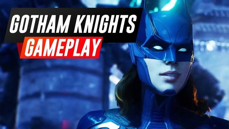 Геймплей игры Рыцари Готэма ➤ Новая Игра про Бэтмена Продолжение игр про Бэтмена 2021