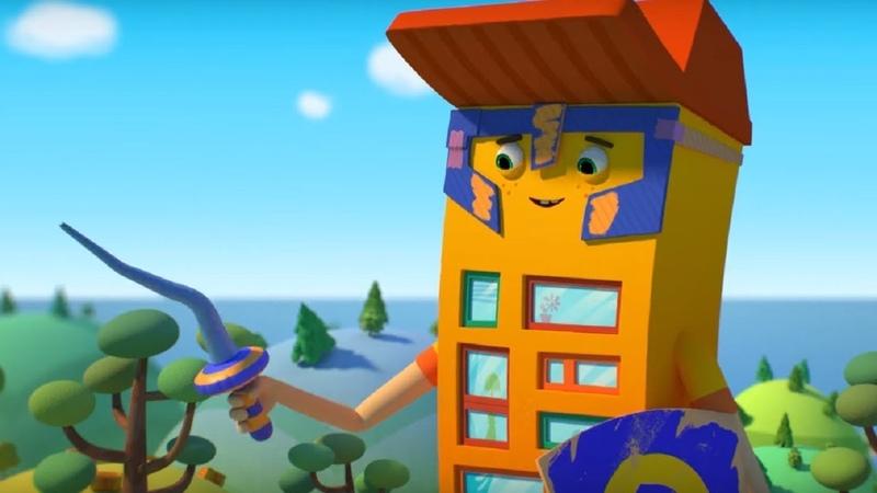 Домики - Нойшванштайн - Обучающий мультфильм для детей - Германия