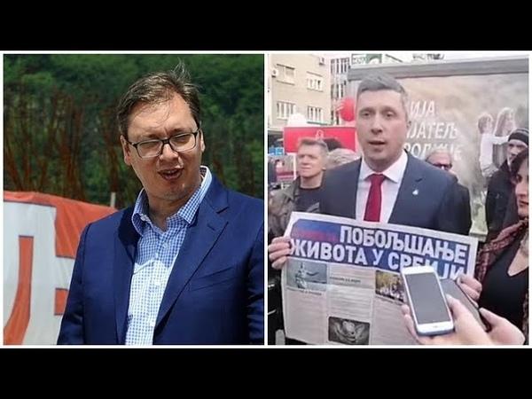 Boško Vučiću bacio rukavicu u lice Predstavio narodu 55 mera za bolji život Srbije