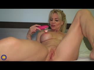 Трахнул неудовлетворённую зрелую бабу, sex milf porn mature woman mom wife busty tit ass fuck bang fit sport new (Hot&Horny)