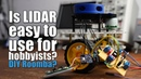 Is LIDAR easy to use for hobbyists DIY Roomba Obstacle Avoidance System for Robotics