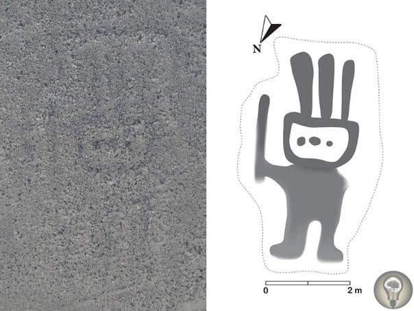 Японские исследователи нашли на плато Наска 143 ранее неизвестных геоглифа.