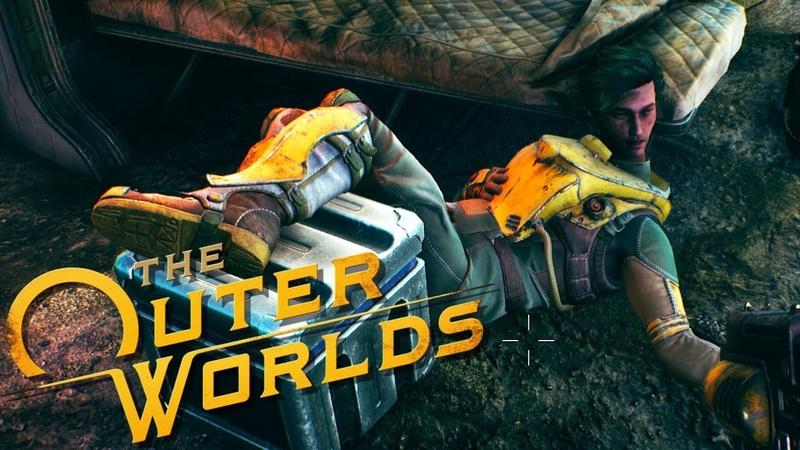 ГНЕВНЫЙ ОБЗОР НА The Outer Worlds