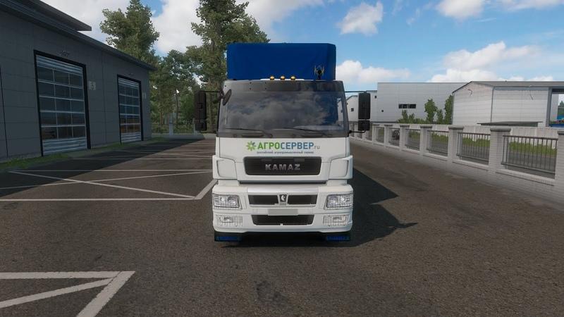 ✅🎥Euro truck Simulator 2 DLC ProMods v 2 43 RusMap v 2 0 PL Rebuilding 2 4 1 Обзор мода KAMAZ neo