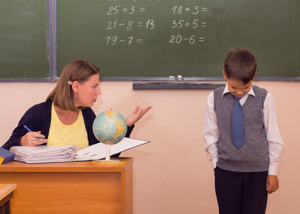 учитель недоволен учеником картинка всегда была страной