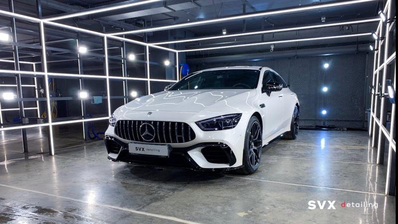 Внушительный комплекс услуг от SVX detailing для стильного красавца Mercedes AMG GT 63
