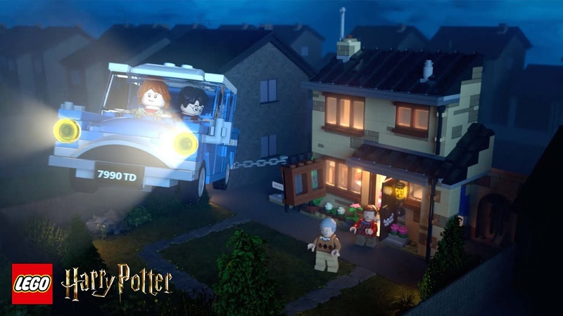 Rescue From No 4 Privet Drive LEGO® Harry Potter™