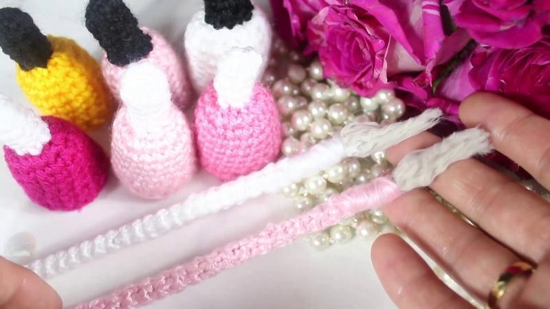 Hermosos esmaltes y pinceles tejidos 🧶 para decoración y venta en uñas acrilicas 💅🏼