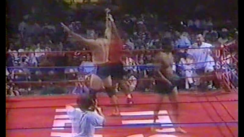 Don Frye vs Eric Valdez USWF 5 Unified Shoot Wrestling Federation 5 06 20 1996
