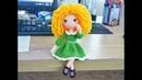 Crochet Amigurumi Doll Tutorial part 1- basic body/ hướng dẫn móc búp bê len tóc xoăn _ phần 1 body