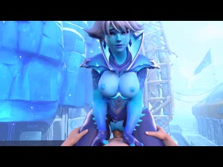Sombra [14] (sound) overwatch 3d game game hentai porn rule 34 rule34 порно хента