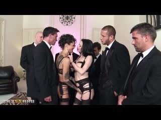 Veronica Avluv, Bonnie Rotten - The Secret Soiree Six-Man Gangbang, Anal, Milf, Squirt BDSM Gape Bondage Big Tits Boobs