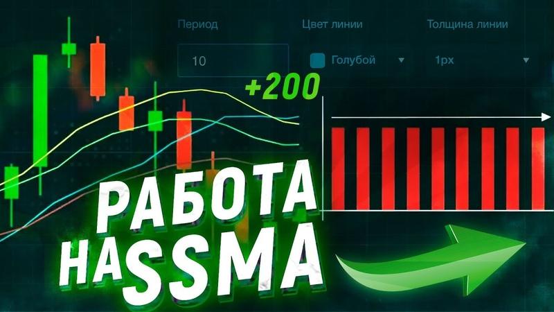 Binarium SSMA 100% разбор СТРАТЕГИИ для стабильного ЗАРАБОТКА