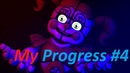 [SFM/FNAF] My Progress 4   Inaccessible soul / Elizabeth Afton   Ellie Goulding - Codes